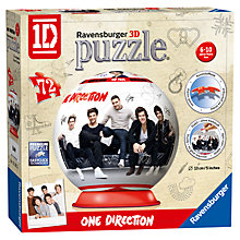 Buy Ravensburger One Direction 3D Puzzle Online at johnlewis.com