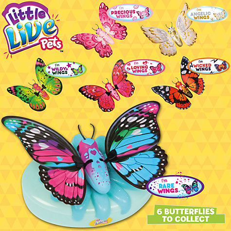 Buy Little Live Pets, My Butterfly, Assorted Online at johnlewis.com