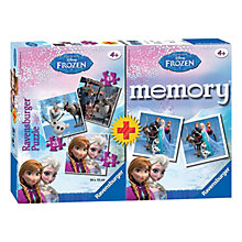 Buy Ravensburger Disney Frozen Puzzle & Memory Game Pack Online at johnlewis.com