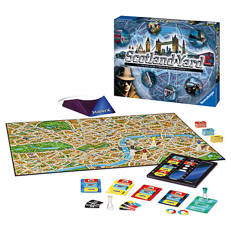how to play scotland yard game