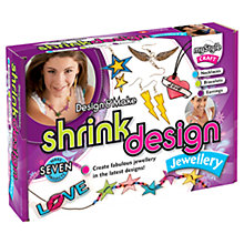 Buy myStyle Design & Make Shrink Design Jewellery Kit Online at johnlewis.com