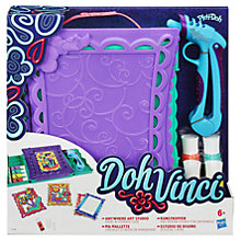 Buy Play-Doh Doh Vinci Anywhere Art Studio Online at johnlewis.com