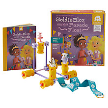 Buy GoldieBlox and the Parade Float Activity Set Online at johnlewis.com