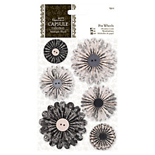 Buy Docrafts Pin Wheels, Pack of 6 Online at johnlewis.com