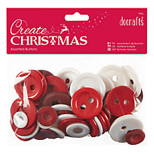 Buy Docrafts Nordic Buttons, Assorted Online at johnlewis.com