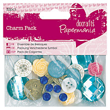 Buy Docrafts Papermania Charm Pack, Pack of 32 Online at johnlewis.com
