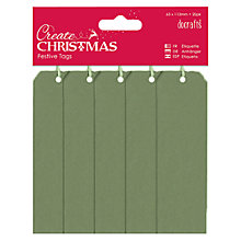 Buy Docrafts Tags, Pack of 20 Online at johnlewis.com