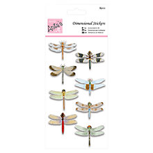 Buy Docrafts Anita's 3D Dragonflies Online at johnlewis.com