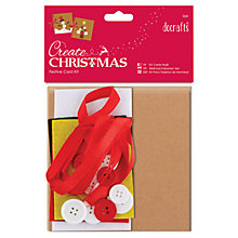 Buy Docrafts Christmas Card Kit, Pack of 2 Online at johnlewis.com