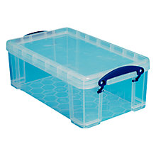 Buy Really Useful Products Plastic Storage Box, 9L Online at johnlewis.com