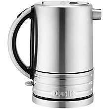 Buy Dualit Architect Kettle, Brushed Steel / Black Online at johnlewis.com