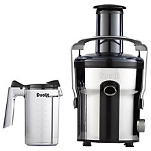 Buy Dualit 88220 Dual Max Juice Extractor, Polished Silver Online at johnlewis.com