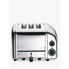 Buy Dualit 3 Slot Vario Toaster, Stainless Steel Online at johnlewis.com