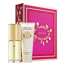 Buy Estée Lauder White Linen Classics Gift Set with The Makeup Artist Collection Online at johnlewis.com