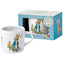 Buy Wedgwood Beatrix Potter Peter Rabbit Mug Online at johnlewis.com