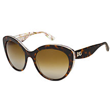 Buy Dolce & Gabbana DG4231 Cat's Eye Sunglasses, Tortoiseshell Online at johnlewis.com