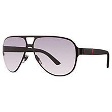 Buy Gucci GG2252/S Matte Sunglasses Online at johnlewis.com