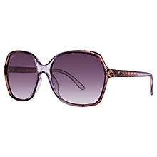 Buy Gucci GG3602/S Square Frame Sunglasses, Grey Online at johnlewis.com