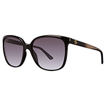 Buy Gucci GG3696/S Square Frame Sunglasses Online at johnlewis.com