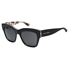 Buy Dolce & Gabbana DG4231 Square Frame Sunglasses Online at johnlewis.com