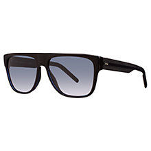 Buy Christian Dior Black Tie 188s Square Sunglasses Online at johnlewis.com