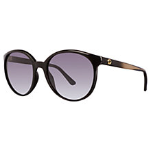Buy Gucci GG3697/S Round Sunglasses Online at johnlewis.com