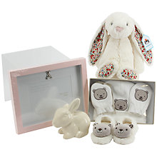 Buy John Lewis Medium Baby Hamper, Pink Online at johnlewis.com