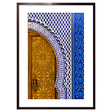 Buy Liz Janeson - Entrance Royal Palace Framed Print, 72 x 52cm Online at johnlewis.com