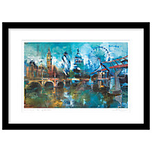 Buy Rob Wilson - London Skyline Framed Print, 74 x 54cm Online at johnlewis.com