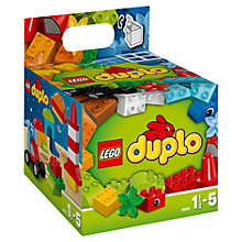 Buy LEGO DUPLO Building Cube Online at johnlewis.com