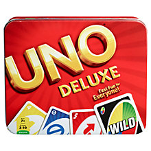 Buy Uno Deluxe Game Online at johnlewis.com