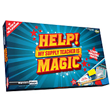 Buy Marvin's Magic: Help! My Supply Teacher Is Magic Online at johnlewis.com