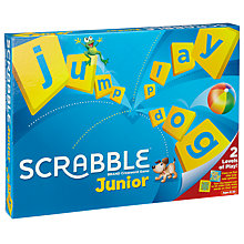 Buy Junior Scrabble Game Exclusive Set With Book Online at johnlewis.com