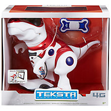 Buy Teksta Robotic T-Rex Dinosaur Online at johnlewis.com