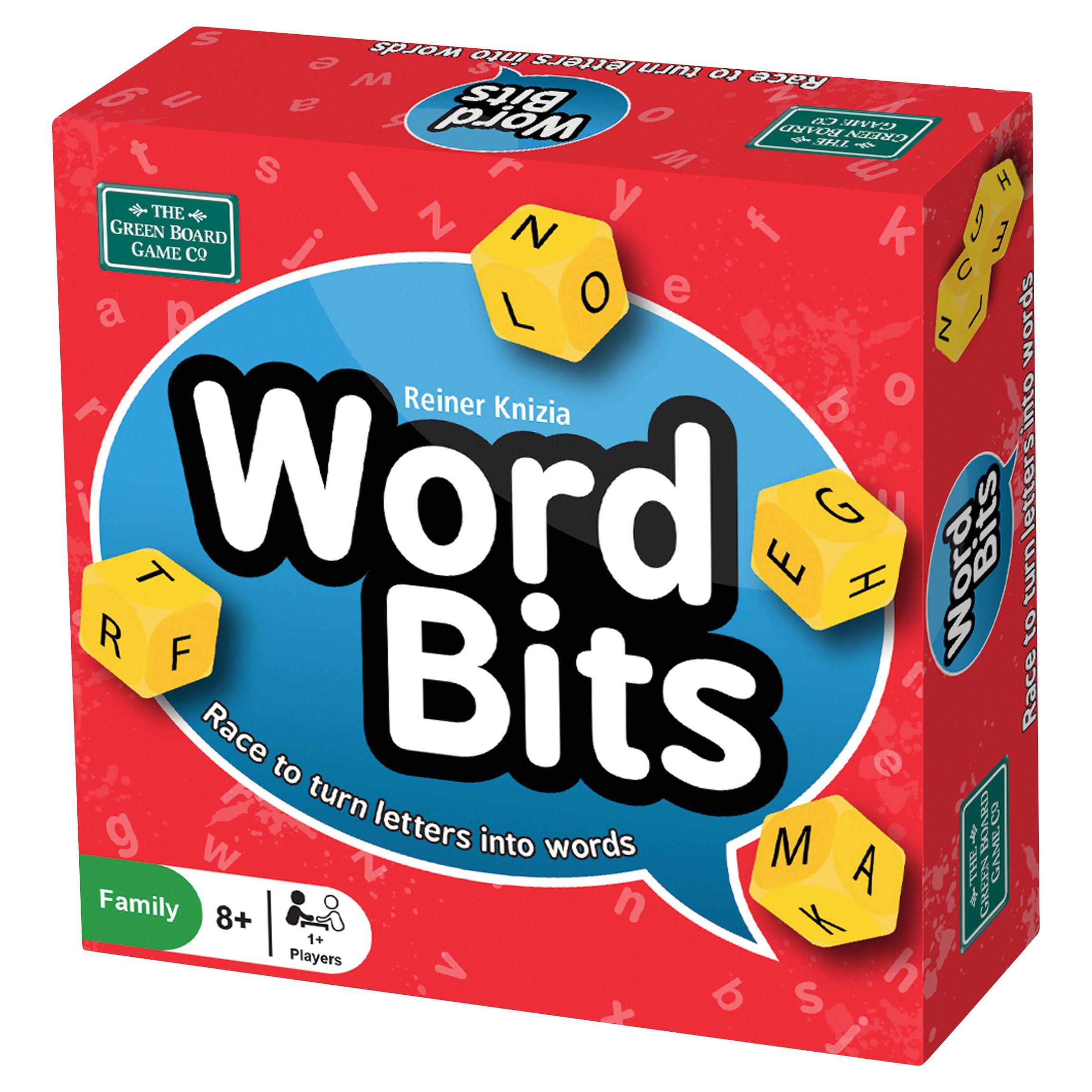 Greenboard Word Bits Game
