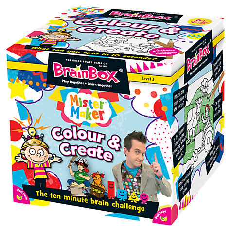 Buy BrainBox Colour and Create Game Online at johnlewis.com