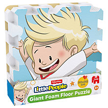 Buy Fisher-Price Little People Giant Foam Floor Puzzle Online at johnlewis.com