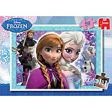 Buy Disney Frozen 50 Piece Jigsaw Puzzle Online at johnlewis.com