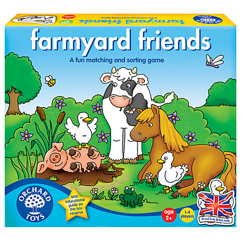 Buy Orchard Toys Farmyard Friends Game Online at johnlewis.com