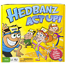 Buy Spinmaster Hedbanz Act Up Online at johnlewis.com