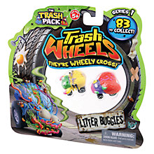 Buy Trash Pack Trash Wheels, Set of 2, Assorted Online at johnlewis.com