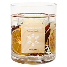 Buy John Lewis Winter Spice Gel Candle, Large Online at johnlewis.com
