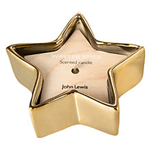 Buy John Lewis Winter Spice Star Votive Candle Online at johnlewis.com