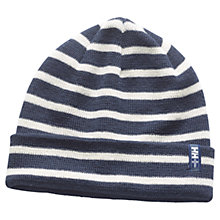 Buy Helly Hansen Skagen Beanie, One Size, Navy/White Online at johnlewis.com
