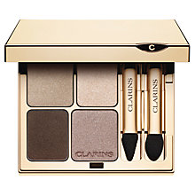 Buy Clarins Eye Quartet Mineral Eyeshadow Palette Online at johnlewis.com