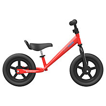 Buy Kiddimoto Super Junior Bike, Red Online at johnlewis.com