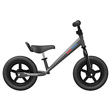 Buy Kiddimoto Super Junior Balance Bike, Black Online at johnlewis.com