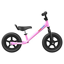 Buy Kiddimoto Super Junior Balance Bike, Pink Online at johnlewis.com