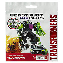 Buy Transformers 4: Age Of Extinction Lockdown Construct-Bots Rider Online at johnlewis.com