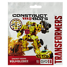 Buy Transformers 4: Age Of Extinction Bumblebee Construct-Bots Rider Online at johnlewis.com